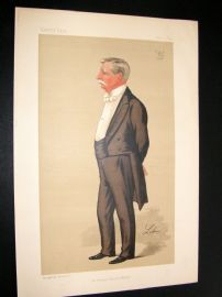 Vanity Fair Print 1890 Andrew Barclay Walker, Businessman